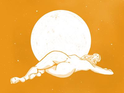 MAGIC MOON WEEK - Sensuality sketchbook sketch magicmoonweek instagram illustration artwork artchallenge art