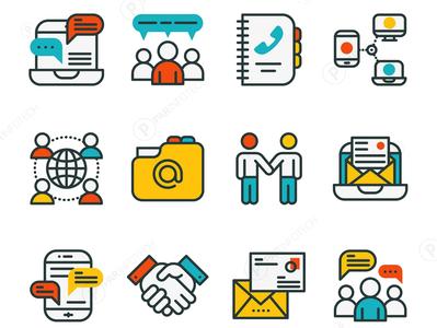 Web icons design