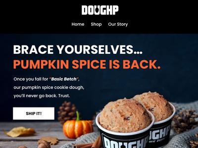 Email template - DOUGHP