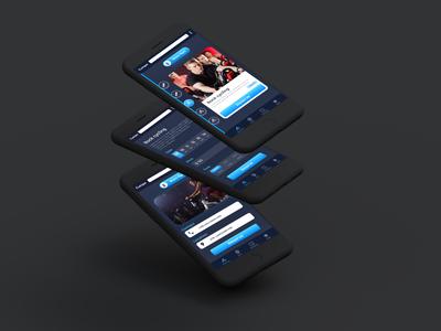 Fitness App UI/UX design