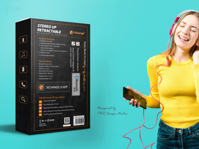 Bluetooth Headset packaging design