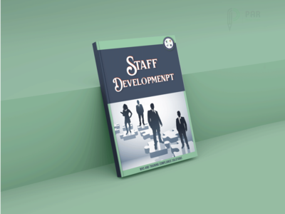 Staff development  Book cover design
