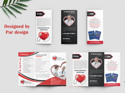 Trifold Brochure Cardiologist