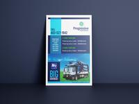Flyer design - Waste Mgt.