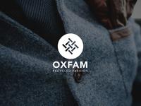 Logo design for oxfam