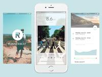 Running/music app