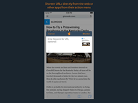 ShortTail's iOS Extension