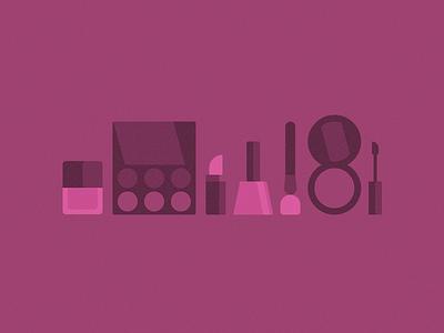 Makeup Icons pink makeup icons