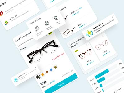 Product Details eyewear product details userinterface user experience interaction design ui design ecommerce app application app app design responsive web website uiux ux ui