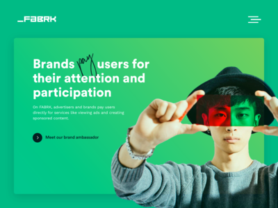 Fabrk Home page