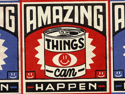 Amazing Things Can Happen nevesman illustration lettering