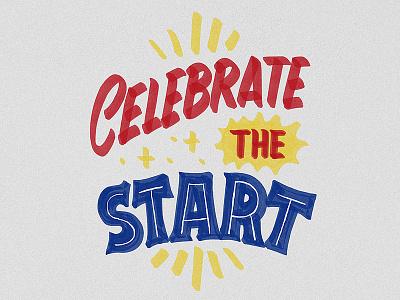 Celebrate nevesman procreate ipad brush lettering