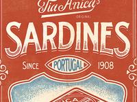 Tia Anica Sardines - Full Piece
