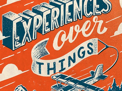 Experiences over Things