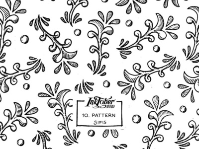 10. Pattern - Marker sketch