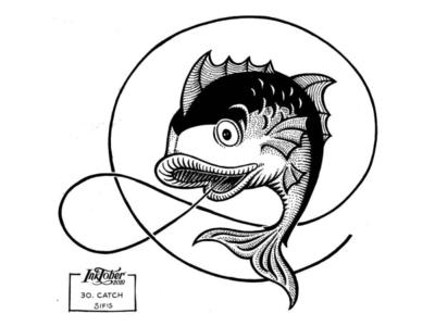 30. Catch - Marker sketch