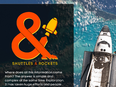 Shuttles And Rockets in line