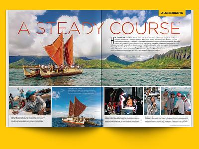 A Steady Course - UCF Pegasus Magazine | Spring 2016 pegasus ucf magazine