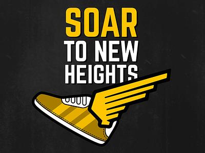 Shwings | Shoe Wings award typography sports shoes wings design marketing apparel