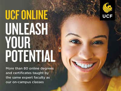 UCF Online Campaign Ad higher education promotional marketing advertising online ucf