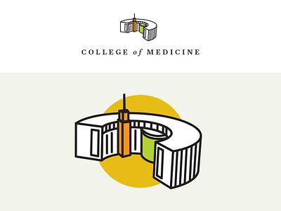 UCF College Of Medicine ICON building plaza medical florida orlando ucf architecture icon