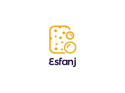 Esfanj brand design logodesign branding