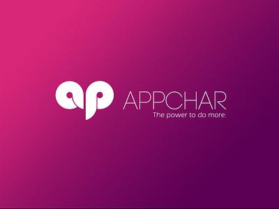 Appchar Branding design logo design brand design logo branding