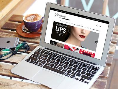 Flormar Cosmetic Online Store ui design ux design uiuxdesign