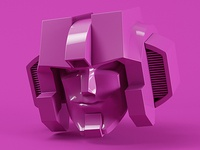 Purple Starscream