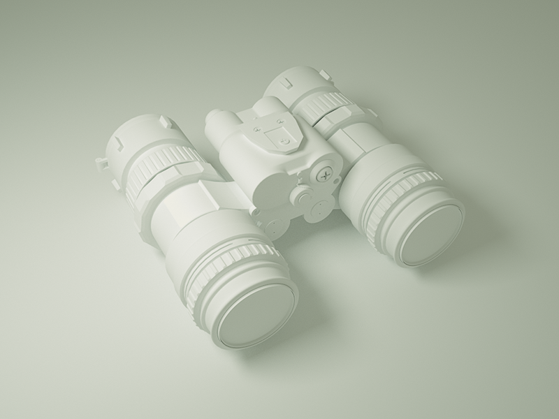 Nightvision Goggles cinema4d model