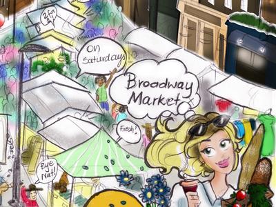 'Nat in Shoreditch' @ Broadway Market series