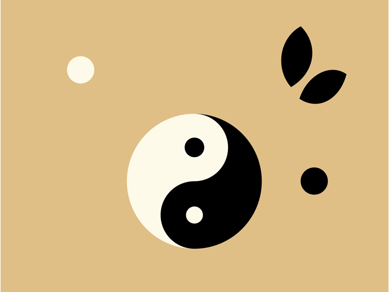 Yin yang Style yinyang