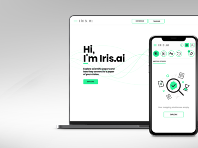 Artificial Intelligence App (Iris.ai from Norway)