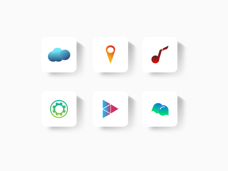 Some Icones mobile clean ui iconography uidesigner uidesign design iconset icondesign icons icon