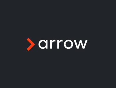 Arrow Recruitment minimalist logo minimal illustrator branding logo design arrow recruitment agency logo