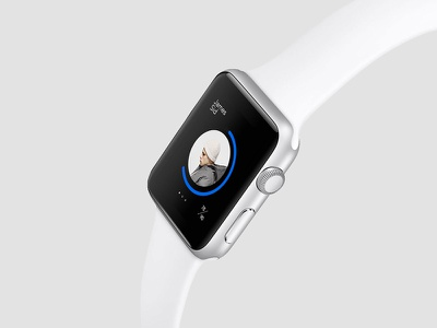 No Brand data interface apple watch
