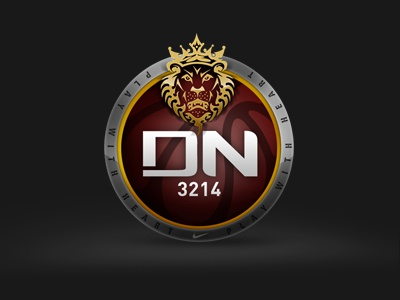 Playwithheart icon badge metal basketball nike