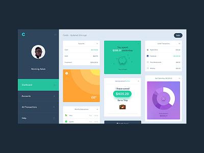 Clarity Dashboard dashboard accounts clarity finance modules