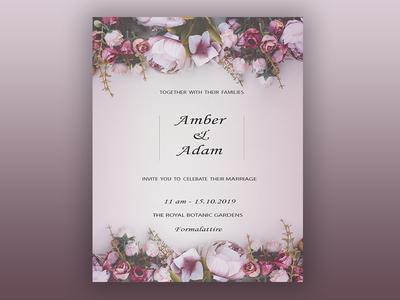 Свадебое пригласительное пригласительные ui typography полиграфия дизайн типография веб