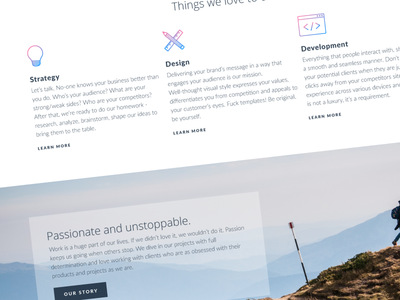 Labasee website design