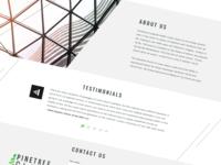 Pinetreeglass website