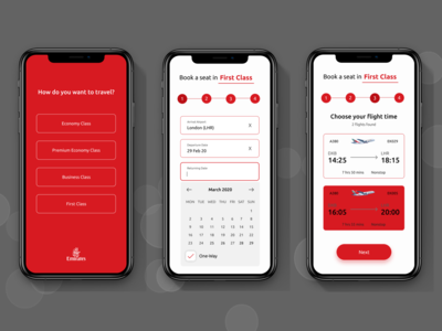 Emirates App Prototype