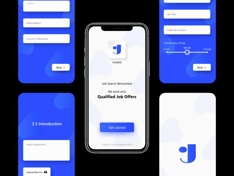 Jobable App Design