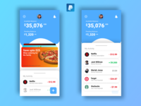 PayPal Mobile App Design