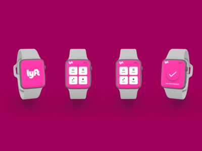 Lyft App Apple Watch Design