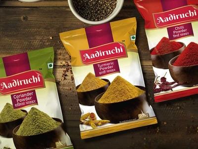Packaging Design - Spice Brand