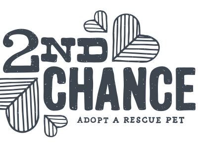 2nd Chance illustration lettering t-shirt