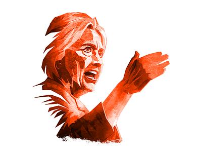Clinton illustration russia trump usa politics russiagate clinton
