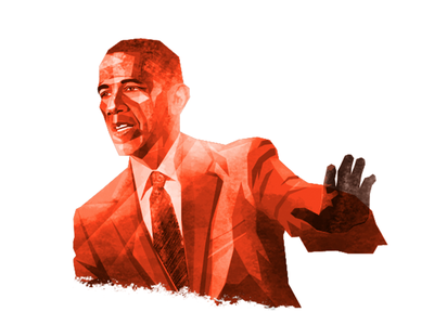 Obama illustration russia trump usa politics russiagate clinton obama