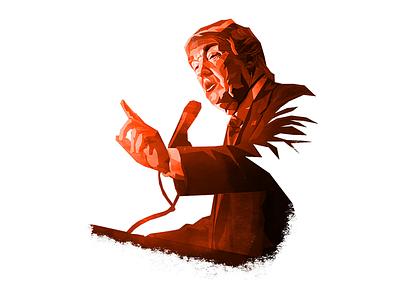 Trump illustration russia trump usa politics russiagate clinton